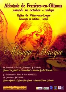 musique baroque octobre 2015