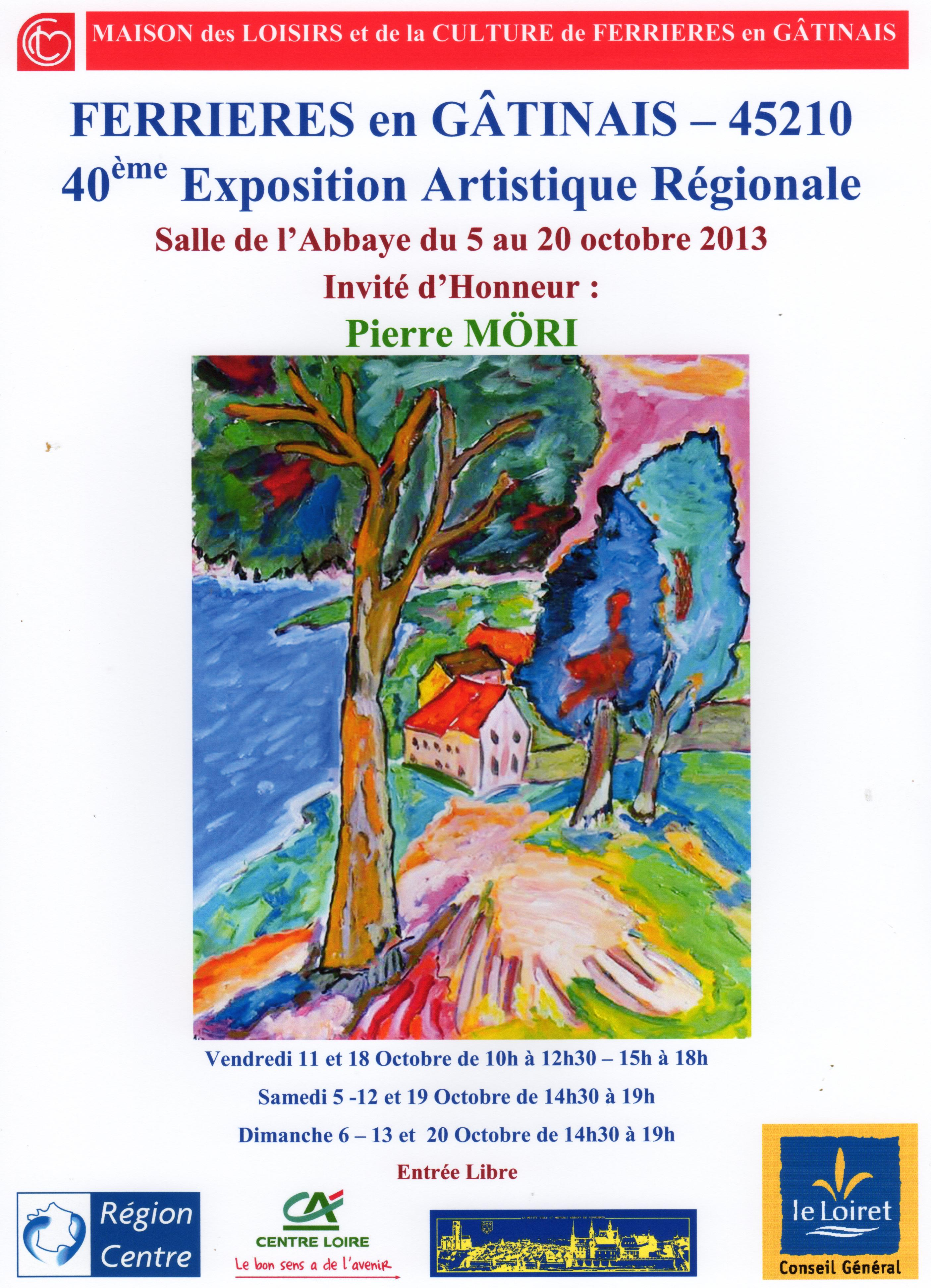 Affiche A4 expo 2013